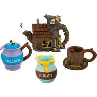 Disney Parks Winnie The Pooh Mini Tea Set New (Decorative Set)