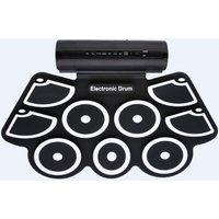 portable-9-pads-electronic-drum-kit-with-sticks-foot-pedals-roll-up-style