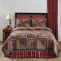 braxton-log-cabin-block-patchwork-quilt-choose-size-twin-queen-cal-king