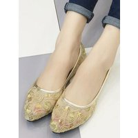 ivory-wedding-shoes-lace-bridal-shoes-champagne-shoes-golden-lace-flats-shoes