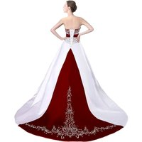 cheap-burgundy-white-wedding-dresses-wedding-gown-bridal-dress-bridal-gown