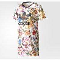New Adidas 2017 Floralita Tee Dress Womens Farm Flowers Dress Tshirt BR5111
