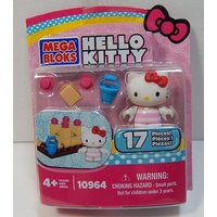 Mega Bloks Hello Kitty 10964 Beach 17 Pieces Includes Figure New