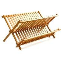 2-tier-dish-rack-totally-eco-bamboo-folding-dish-rack-drain-board