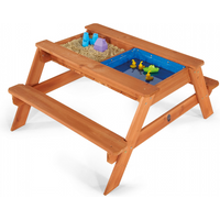 sand-water-table-picnic-wooden-pit-outdoor-garden-patio-play-kids-new-children