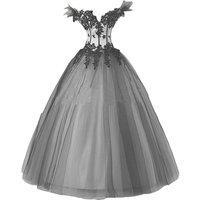kivary-women-white-black-gothic-wedding-dresses-ball-gown-us-4
