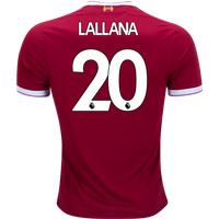 Adam Lallana #20 Liverpool 2017/18 Home Men Jersey