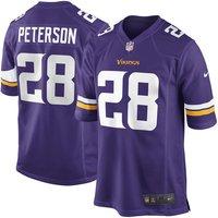 Adrian Peterson Minnesota Vikings Purple Men Jersey