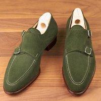 handmade-mens-hunter-green-suede-monk-shoes-mens-formal-shoes-men-dress-shoes