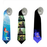 necktie-little-mermaid-ariel-jungle-book-aladdin-aladin-genie-animation-baloo