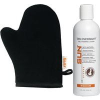 Best Self Tanner 8 Oz Lotion by Sun Labs + Tanning Mitt Fast Shipping!