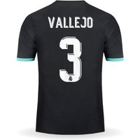 All New Jesus Vallejo #3 Real Madrid Away Jersey 2017-2018 Men Soccer Jersey