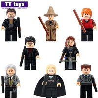 80pcs/lot Harry Potter movie set minifigures building blocks bricks toys