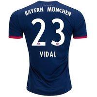 All New Arturo Vidal #23 Bayern Munchen Away 2017-2018 Men Soccer Jersey