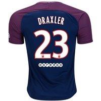 All New Julian Draxler #23 Paris Saint Germain Psg Home 17/18 Men Soccer Jersey