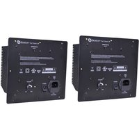 set-of-2-boston-acoustics-tvee-m25-b-wireless-subwoofer-sub-power-supply-120v