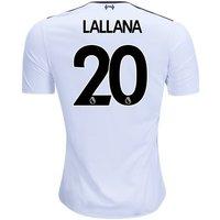 Adam Lallana #20 Liverpool 2017/18 Away Men Jersey