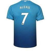 Alexis Sanchez #7 Arsenal 2017/18 Away Men Jersey