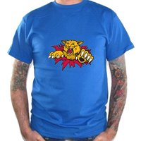 04544 HOCKEY Quebec Major Jr Hockey League Moncton Wildcats T-Shirt Tee
