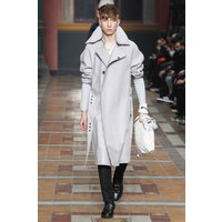 MEN LEATHER COAT WINTER LONG  LEATHER COAT GENUINE REAL LEATHER TRENCH COAT-UK33