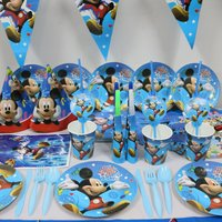 61pcs-micey-mouse-20people-use-paper-plate-cup-api-baer-ids-birthday-party-fors
