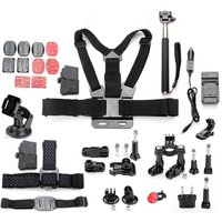 11 In 1 Pro Sport Camera Accessories Kits For Gopro Hero 1 2 3 4 3 Plus SJcam SJ