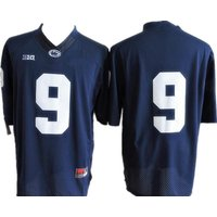 Mens Saquon Barkley #9 No Name Jerseys Penn State Nittany Lions Navy Size S-3xl