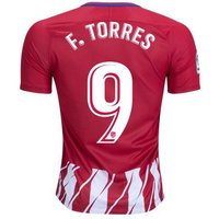 All New Fernando Torres #9 Atletico Madrid Home 2017-2018 Men Soccer Jersey