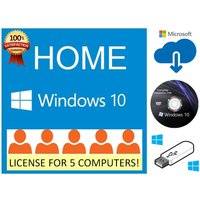 windows-10-home-dvd-five-pack-5-users-computers-downoad-dvd-usb-flash-drive
