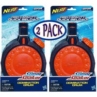 Nerf Super Soaker Domination Drum Water Clip 2Pk Fits Nerf Thunderstorm Hot Item