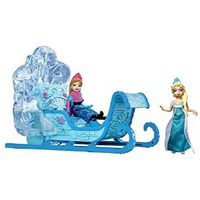NEW **Disney Frozen** Swirl Snow Sled with Elsa & Anna