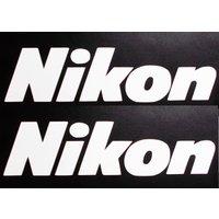 nikon-logo-decalsticker-5-sizes-lot-x1-white-camera-photography-case