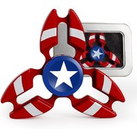 The Avengers Fidget Spinner Tri-Spinner Crab Metal Finger Captain America