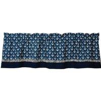 olivia-heartland-maritime-nautical-anchors-blue-cream-valance-curtain-60x16
