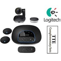 NEW Logitech Group Video Conferencing Bundle with Expansion Mics 960-001060