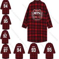kpop-bts-three-quarter-sleeve-red-plaid-blouse-bangtang-boys-shirt-overshirt