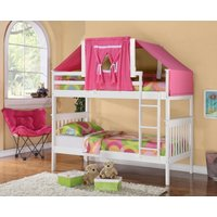 low-loft-bed-tent-kit-pink-white-wood-bunk-bed-sold-separatelty