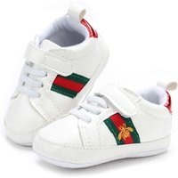 Newborn Baby Soft Bottom Toddler Shoes Walking Shoes G199 White