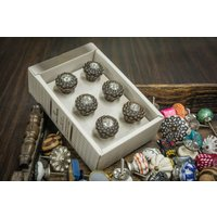 casa-decor-handmade-antique-design-leather-drawer-cabinet-knob-pull-pack-of-6