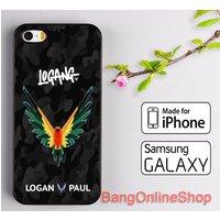 Logan Paul Black Camo Cover iPhone 8 8+ 7 7+ 6 6s 6+ 6s+ 5 5s 5c SE Samsung Case