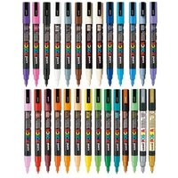 Uni Posca PC-3M Paint Marker Art Pens - Full Range 27 Pen Set