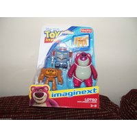 Fisher Price Imaginext Disney Toy Story  Lotso with sparks & chunk NEW