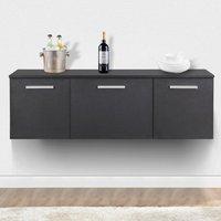 black-wall-mounted-buffet-dining-furniture-room-storage-dinnerware-cabinet-door