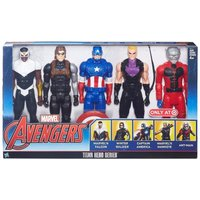Marvel Avengers TITAN HERO SERIES 5-Pack TARGET Exclusive  Captain America Bucky