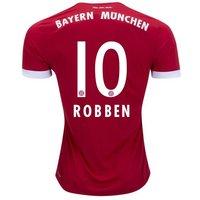 All New Arjen Robben #10 Bayern Munchen Home 2017-2018 Men Soccer Jersey