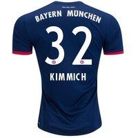 All New Joshua Kimmich #32 Bayern Munchen Away 2017-2018 Men Soccer Jersey