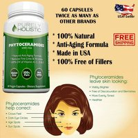 Pure Phytoceramides Rice Based + Vitamin A,C,D, & E  Skin Therapy **60 Capsules*