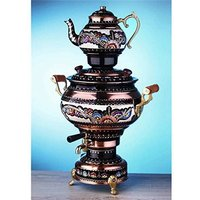 electric-tea-maker-tea-machine-copper-samovar-kettle-pot-decorative-desing-te