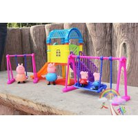 HOT Peppa Pig Playground Children's Slide Swing Play Set With Figures Xmas