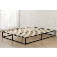 platform-bed-frame-queen-modern-wood-slat-10-inch-low-profile-steel-bedroom-new